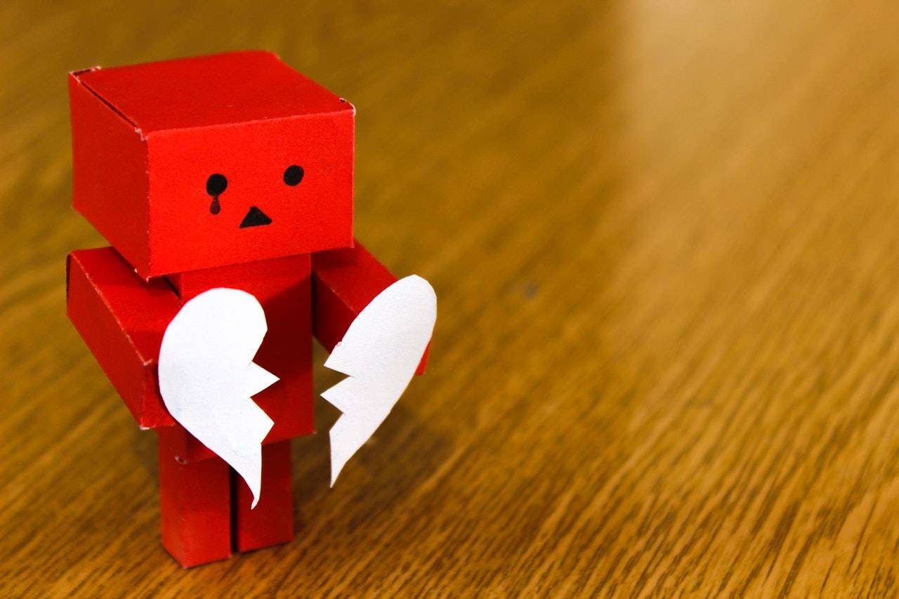 broken heart robot